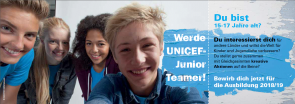 UNICEF JuniorTeamer/-in werden! (Bild: UNICEF)
