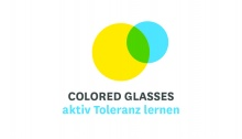 Logo der Initiative: Colored Glasses Regionalkoordination Hessen/Rheinland-Pfalz/Saarland
