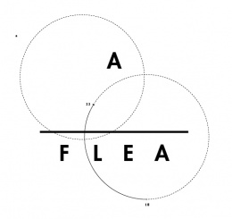 Logo der Initiative: A_FLEA
