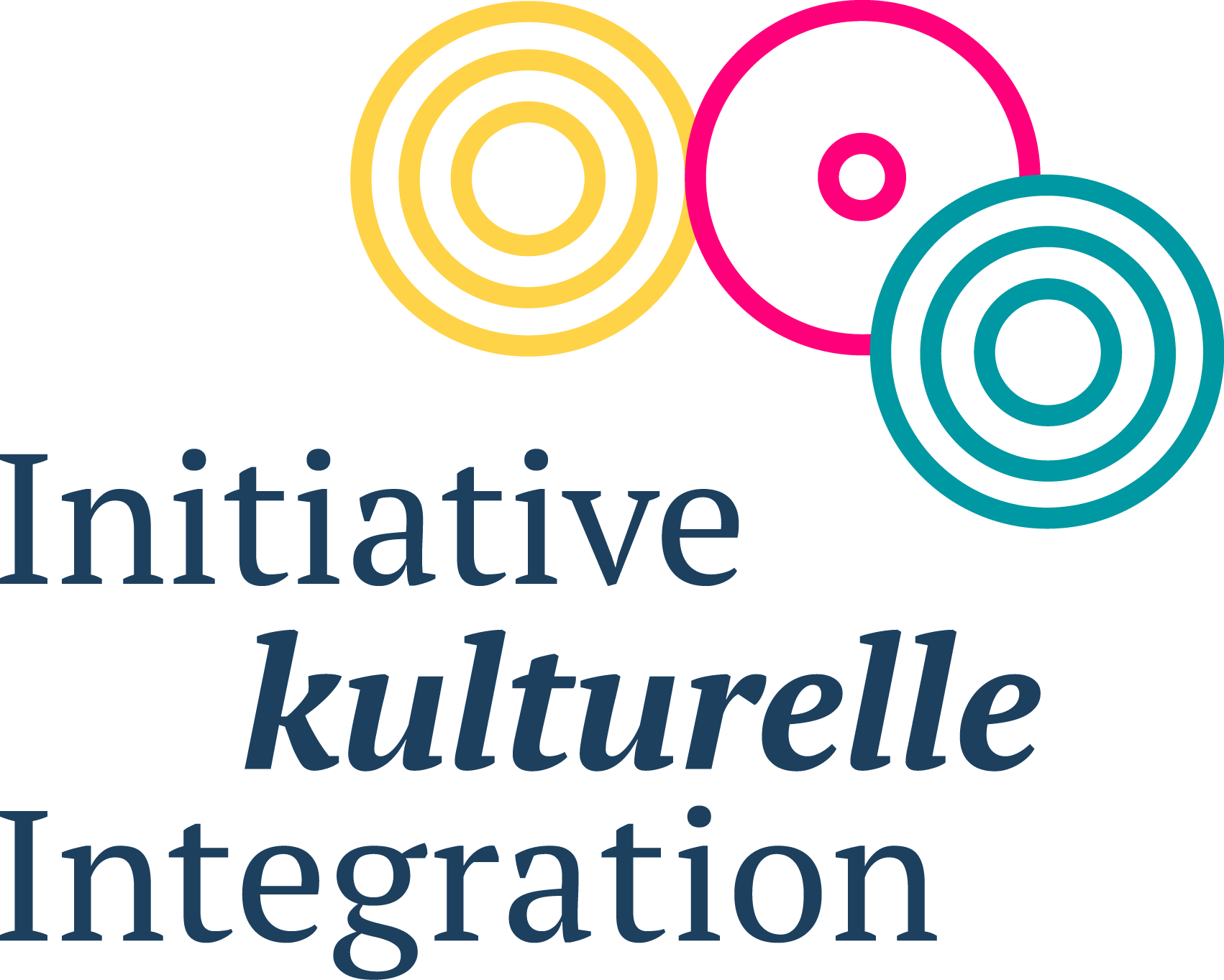 Logo Initiative kulturelle Integration