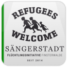 Logo der Initiative: Refugees Welcome Sängerstadt