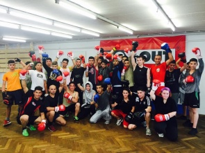 Beim Training (Foto: BOX-OUT)