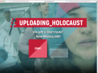 Logo der Initiative: Webprojekt uploading_holocaust