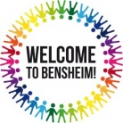 Logo der Initiative: Welcome to Bensheim