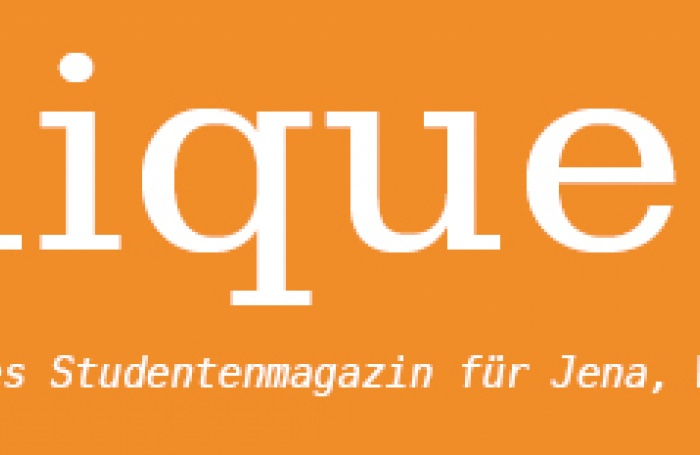 Logo der Initiative: unique - interkulturelles Magazin für Jena, Weimar & Erfurt