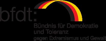 Logo: Bündnis für Demokratie und Toleranz
